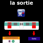 Application paris ci la sortie du metro - Bon plan Paris