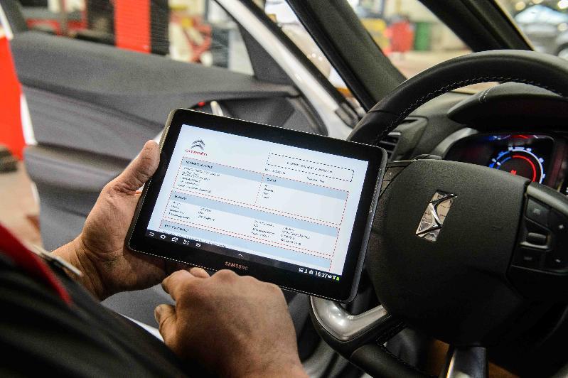 Citroën équipe tous ses points de vente d'une tablette Samsung