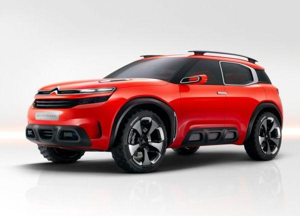 La Aircross hybride de Citroën dévoilée au salon de Shanghai