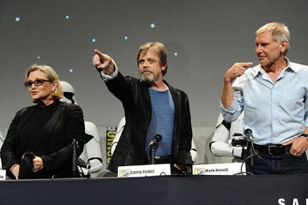 "2015 Comic-Con - ""Star Wars: The Force Awakens"" Panel"
