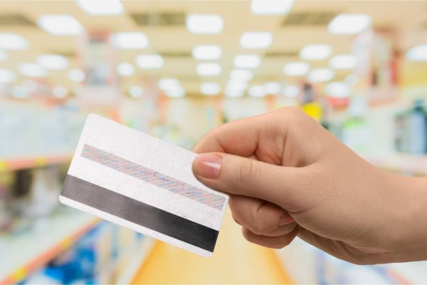 Credit Card, Smart Card, Human Hand.
