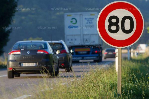 La vitesse maximale sur les routes secondaires va baisser à 80 km/h
