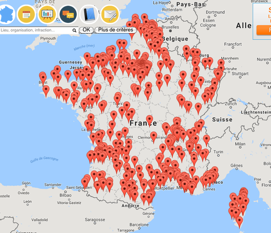 carte collaborative france