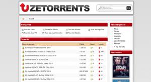le site ZeTorrent