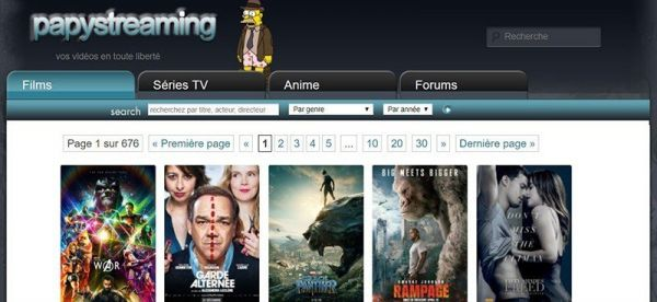 PapyStreaming : enfin un streaming qui fonctionne